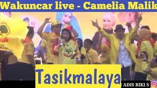 #konser #cameliamalik #live penonton RICUH berebut saweran Wakuncar - Camelia Malik