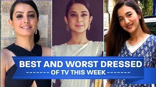 Divyanka Tripathi, Gauahar Khan, Anita Hassanandani: TV's Best and Worst Dressed of the Week