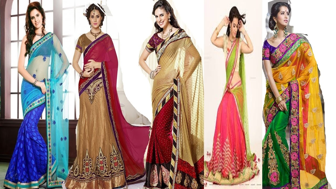 How to half wear saree type sarees exclusive photo