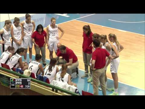 Australia v Slovak Republic Group C 2014 FIBA U17 World Championship for Women