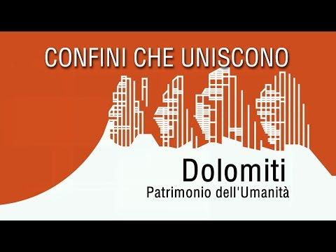 DOLOMITI PATRIMONIO DELL'UMANITÀ - CONFINI CHE UNISCONO