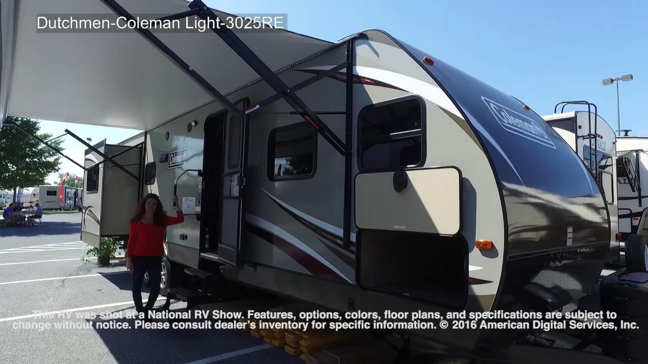 Dutchmen Coleman Light 3025RE YouTube