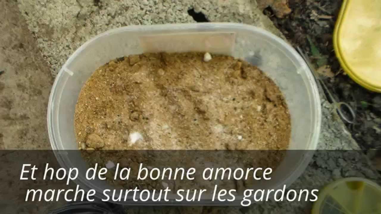 Faire de l 39 amorce maisons pour gardons youtube for Amorce maison pour gardon