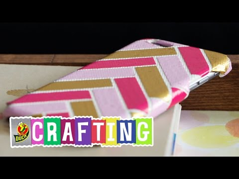 How to Craft a Duct Tape Phone Case