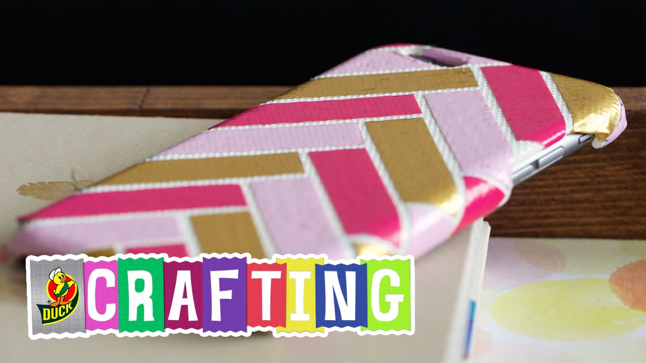 How To Craft A Duct Tape Phone Case You