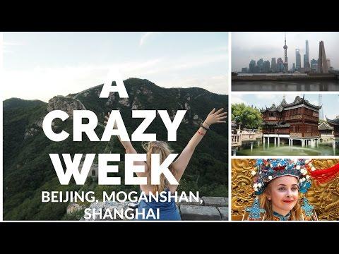 The CRAZIEST week in China | Beijing, Moganshan, Shanghai