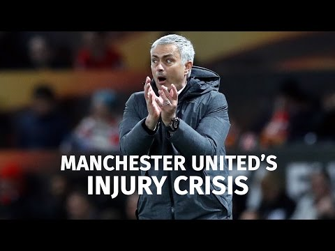 Jose Mourinho On Manchester United's Injury Crisis