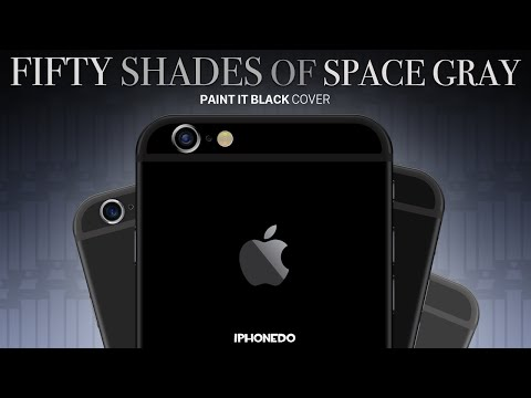 Fifty Shades of Space Gray (Paint It Black - Cover)