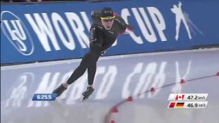 Ted-jan Bloemen  Can  10000m - 12:36.30  Wr  World Cup 2 Salt Lake City 2015/2016