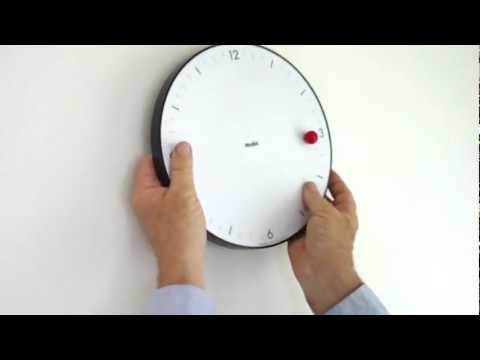 MoMA TimeSphere Clock by Gideon Dagan