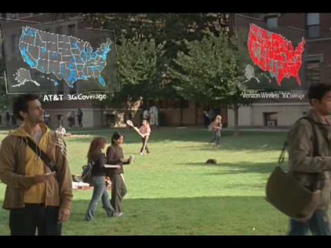 "Verizon Wireless ""Map for That"" TV ad (Samsung Rogue)"