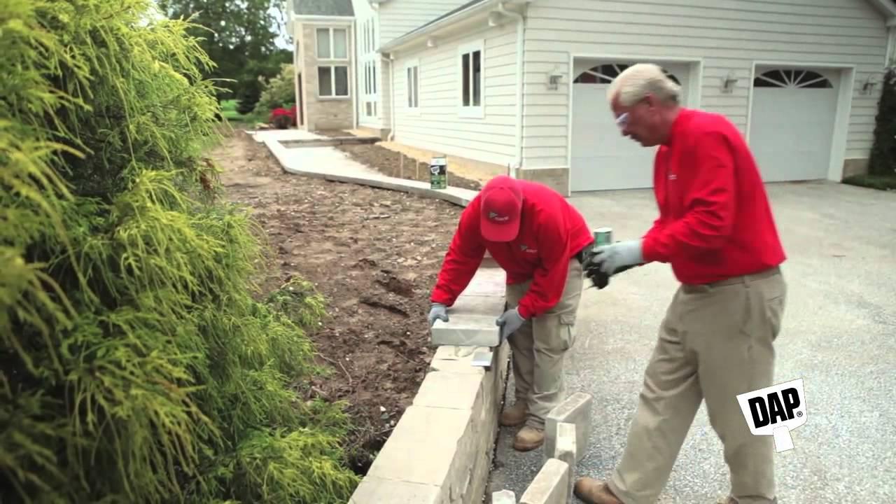 Dap Smartbond Landscape Construction Adhesive Youtube