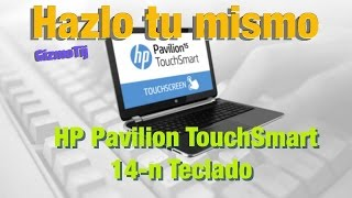 Hp 14-n009la Pavilion TouchSmart Remplazar Teclado : GizmoTij