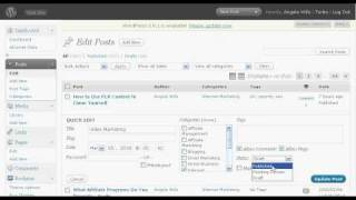 Automatically Update Website Content With Wordpress
