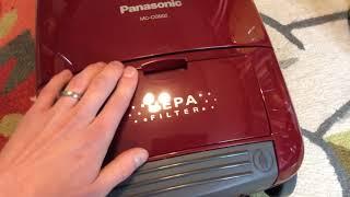 Panasonic mc-cg902 canister vacuum
