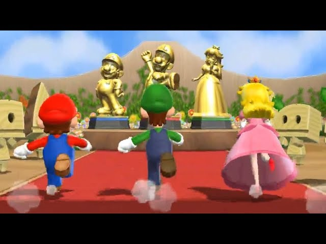 Mario Party 9 - Step It Up - Team Mario/Luigi/Peach VS Team Wario (Master Difficulty)