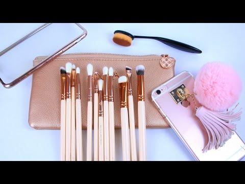 Кисти для макияжа с Aliexpress (Zoeva vs фейк), овальная кисть. Чехлы на iPhone | Часть 2