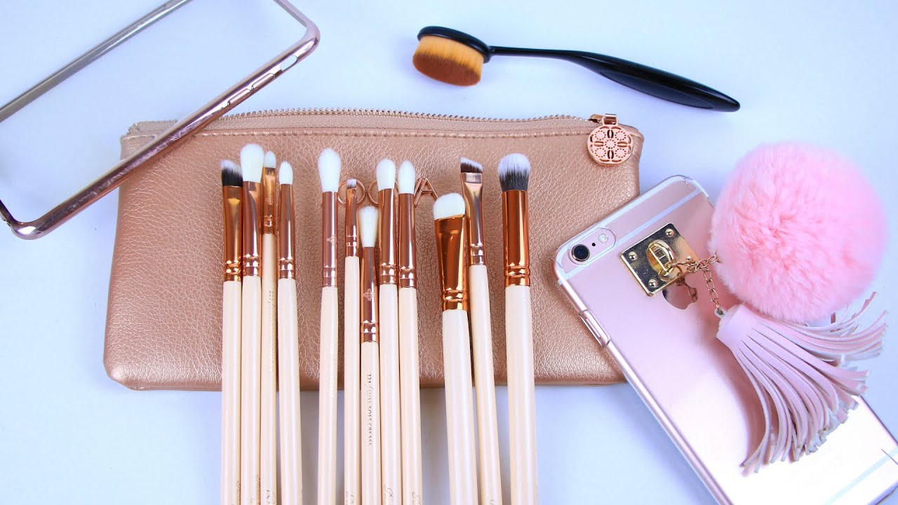 My favorite/must have sigma brushes jaclyn hill. Professional makeup brush set buy now high quality makeup tools kit violet buy now on aliexpress.