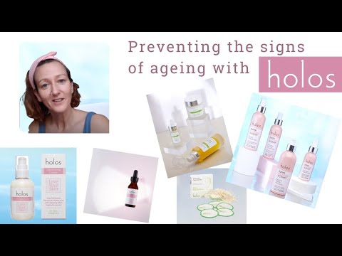 Preventing the signs of ageing with Holos Skincare