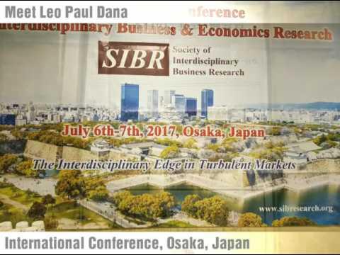 International Conference SIBR Osaka, Japan 2017