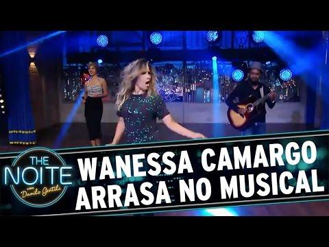 The Noite (04/04/16) - Wanessa Camargo Arrasa Em Musical Exclusivo