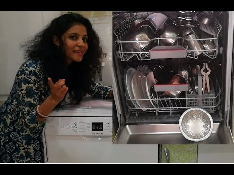 Dishwasher Detailed Review - Is It Worth Buying? | Bosch 2019 model | Review | Demo (updated Audio)