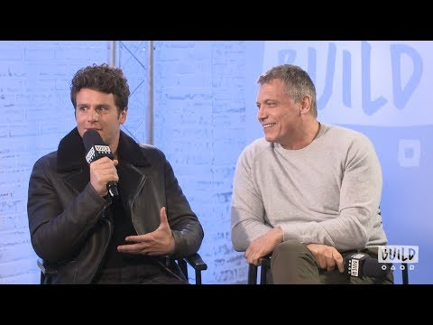 Jonathan Groff and Holt McCallany on BUILD Series London