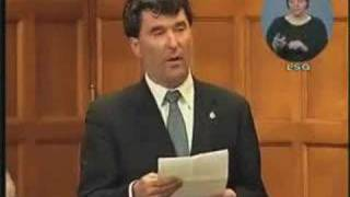 NDP: Paul Dewar on Selling RADARSAT