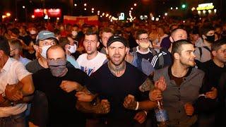 Беспорядки в Белоруссии Протесты в Минске 10.08 Выборы шествия в Минске новости 10 августа