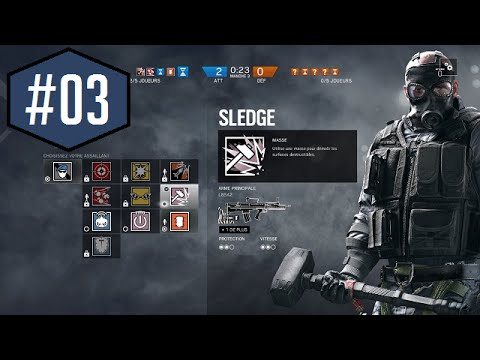 rainbow 6 siege route du grade max 03 gameplay class multijoueur fr ps4 youtube. Black Bedroom Furniture Sets. Home Design Ideas