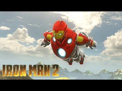 Ultimate Iron Man Suit Gameplay - Iron Man 2 Game