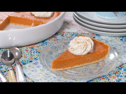 Tarta de Calabaza y Leche Condensada (Pumpkin Pie) | Reto con Las María Cocinillas