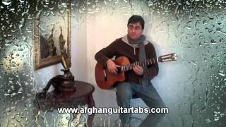 Bewafa Yaram- Romantic with Lyrics- بيوفا يارم - Ahmad Zahir- Guitar Cover - Unplugged
