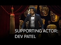 Dev Patel wins the Best Supporting Actor BAFTA for Lion - The British Academy Film Awards 2017