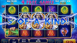 King of Olympus.Age of the Gods.Jackpots William Hill Bonuses game slot Must Drop Free Spins