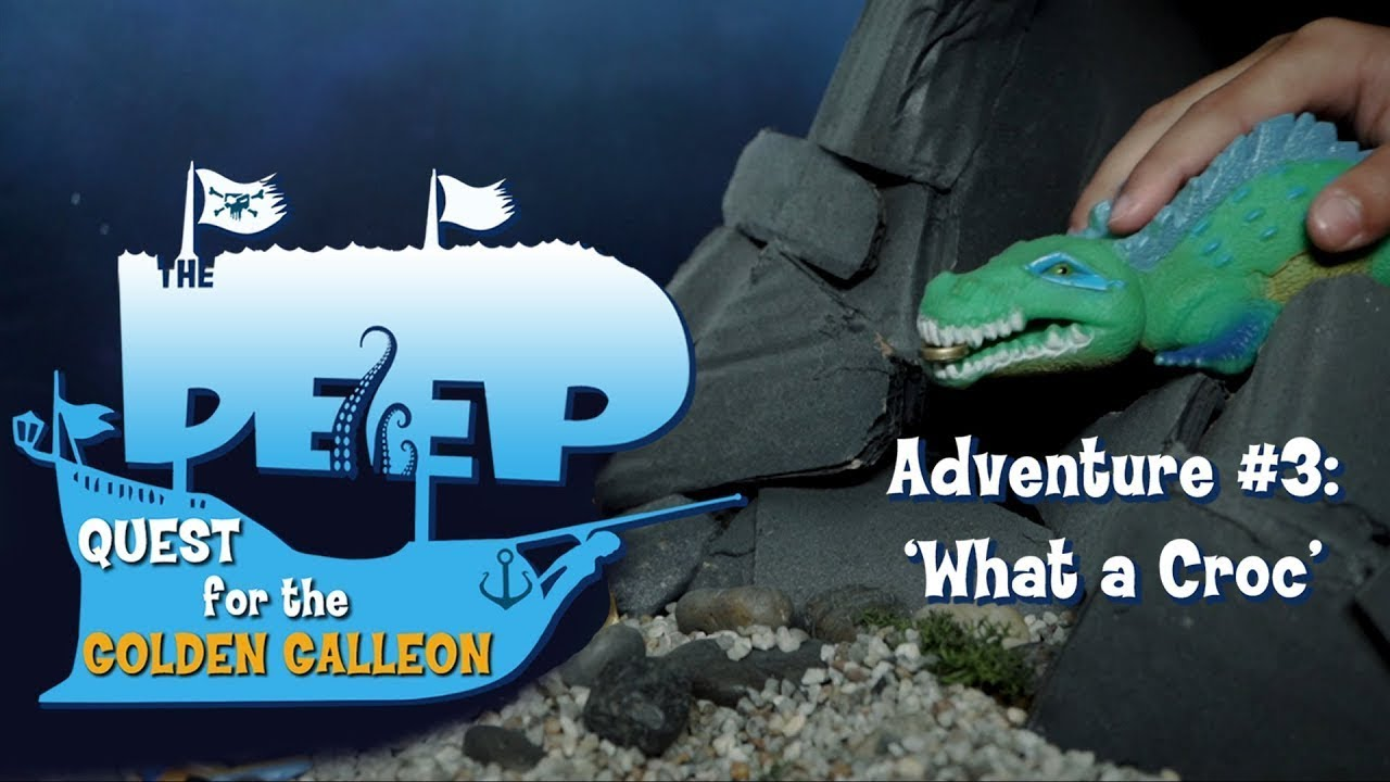 The Deep | Toy Play Adventure: What A Croc | Cartoons for Children | WildBrain Cartoons