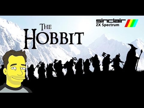 The Hobbit adventure game on the ZX Spectrum