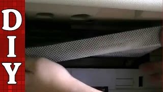 How To Remove And Replace A Cabin Air Filter - 2005-2010 Kia Optima