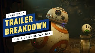 Star Wars: The Rise of Skywalker Trailer Breakdown - Easter Eggs and Theories