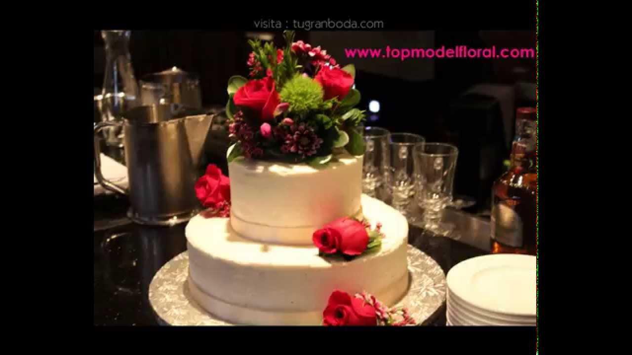 de boda con flores