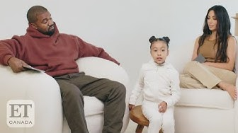 North West Interrupts Kimye Interview