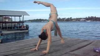 "Laura Kay ""Wild Thing"" Bikini Yoga Bocas Del Toro Panama"
