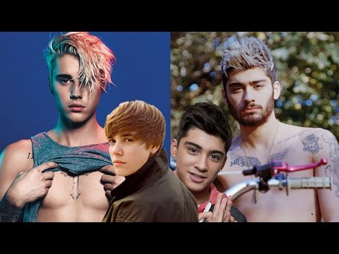 Justin Bieber Vs. Zayn Malik: CRAZIEST TRANSFORMATION?! | Hollywire