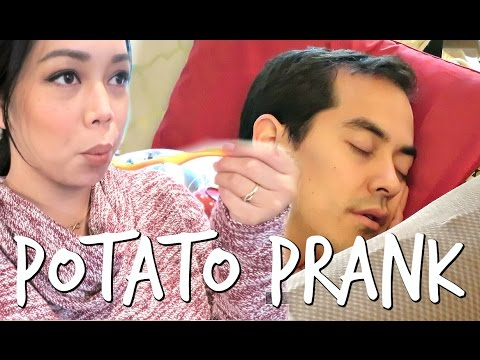 POTATO PRANK ON THANKSGIVING! - November 24, 2016 -  ItsJudysLife Vlogs thumbnail