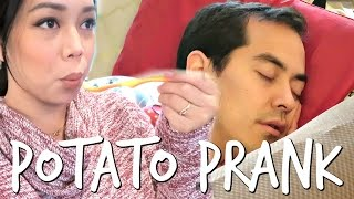 POTATO PRANK ON THANKSGIVING! - November 24, 2016 -  ItsJudysLife Vlogs