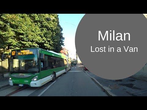 Lost in a Van in Milan - Etrusco Road Trip Italia