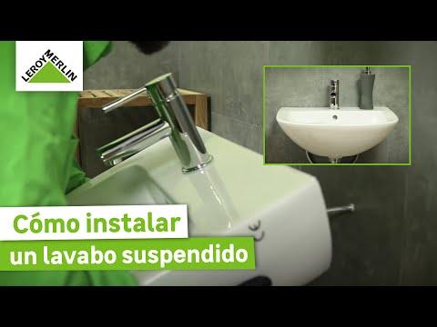 C mo instalar un lavabo suspendido leroy merlin youtube - Lavabos suspendidos leroy merlin ...