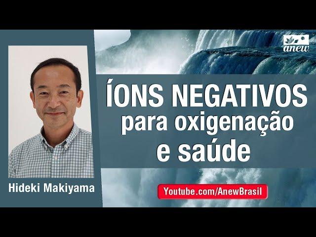 Íons Negativos Para Oxigenação e Saúde