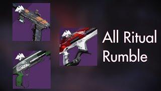 Ritual Weapons | Season 9 PvP [Raw Gameplay]