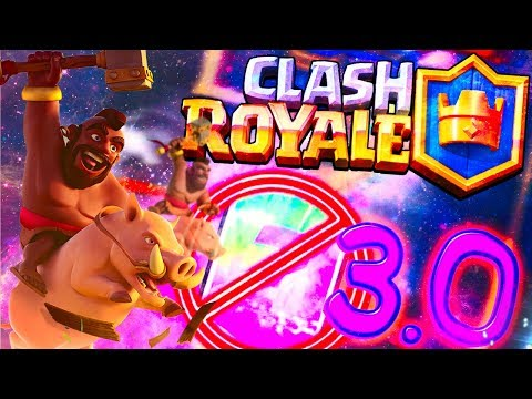 ХОГ БЕЗ ЛЕГЕНДАРОК ЗА 3.0 ЭЛИКСИРА ! - Clash Royale